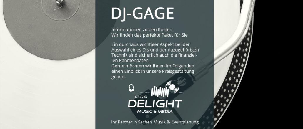 DJ Gage Informationen zu Preisen